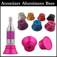 Precio de Tanque de mutación-Clearomizer Display Base Atomizer Stand Soporte de aluminio para 510 Thread Clearomizers yocan 94F exgo w3 aerotanque mega mutación rda RBA tanque