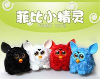 Wholesale OP Retail For Firbi Boom Toy Firbi Elves Figurines Recording Plush Electronic Toys For Kids Compatible with Furby