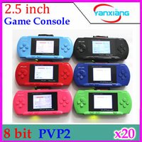 handheld game console - 2 Inch Bit Video Game Consoles Handheld Game Console PVP Station Light RW GP03