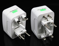 Wholesale 2016 new Travel Adapter Universal plug with Usb Charger All in US UK AU EU Socket DHL