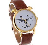 auto rabbit - TGJW084 New Arrival Fashion Unisex Rabbit Beard Style Watch Mustache Watch Gift Watch