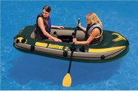 9.5KG boat - Intex Seahawk person fishing boat inflatable kayak inflatable boat cm a pair of oars hand pump included