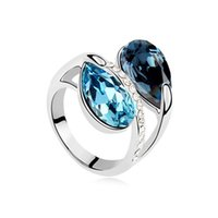 accessories forever - Crystal Ring forever Ms ring Ladies fashion accessories Beautiful fashion diamond ring10pcs