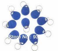 Wholesale Hot Selling High Quality Cheap Plastic ABS RFID ID Key Fob Key Tag LF TK4100 Chip KHz Blue Color
