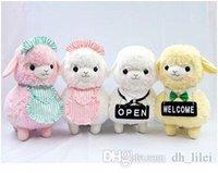 alpaca shop - One Piece cm kinds Kawaii Japan Amuse Alpacasso Coffee Shop Waiter Alpaca Plush Horse Soft Toys for Children