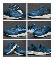Wholesale Air Huarache Run Blue Force Sail Classic Sneakers Men s Trainers Sports Running Shoes