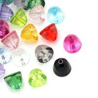 acrylic hemisphere - Acrylic Spacer Beads Faceted Flatback Hemisphere Mixed quot x quot
