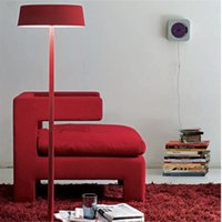Wholesale E27 v V Metal Floor Lamps Cheap Fashion Red Floor Light for Home Reading Easy Assembly High Quality FL