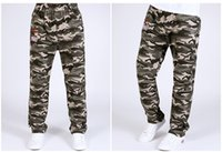 Wholesale 2016 New Kids Children Camouflage Pants Breathable Hunting Fishing Hiking Trousers Army Style Pants Casual Trousers