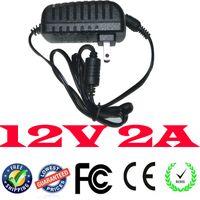 12v dc adaptor - Good quality AC DC Adapter Power supply AC V HZ AC TO DC Universal V A Adaptor V2A UK US AU EU plug Adaptor