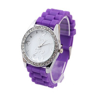 auto smart products - Factory products colorful girls classic crystal watches Korea style student smart watch on sale W