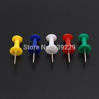Wholesale Push Pins Assorted Coloured Making Thumbtacks Notice Cork Board Office School