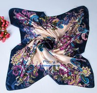 Cheap Big Sashew Square Silk Scarf Best Large Scarf Silk Satin Printed Scarves