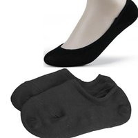 bamboo socks shop - Nonslip Bamboo Fiber Socks Cotton Ankle Boat Low cut Black B2C Shop