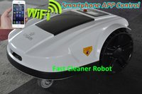 Wholesale 2015 Newest th Generation WIFI Robotic Lawn Mower Price Cutting Height cm Working Capacity m2 Cuting Width cm