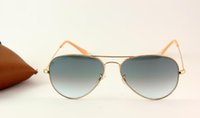 Wholesale Brand Design Men Sunglasses Gradient Lens Polarized Classic Star Eyewear New Arrival Authentic Sunglass with Leather Box