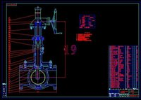 Wholesale Drawing ordinary check valve GB DN40 drawings Full Machining drawings