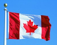 Wholesale Canada National Flags feet Large Canadian Flags Polyester Canada Maple Leaf Banner Outdoor flags of Canada