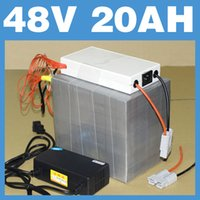 Wholesale 48V AH Lithium Battery Pack BMS Charger W RC Electric bicycle scooter lithium battery