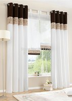 bamboo curtain - Bamboo Fabric Embroidered Patchwork Curtain Stitching Colors High Quality Modern striped Curtain