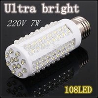 Wholesale Ultra bright Cold White or Warm White light LED lamp W LED