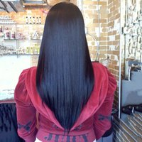 kinky straight full lace wigs - 2015 New Arrival Sale Density Front Lace Wigs Full Wig Fabulous Kinky Straight with Baby Hair Brazilian Human for Black Women