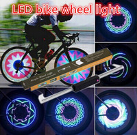 Wholesale 10pcs DIY Led Led Double Side Programming IP65 Flash Tire Valve Wheel Spoke Light for Inch Bicycles to Creat Fantastic Images
