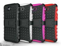 al por mayor optimus pro g casos-caso del soporte de armadura color de la mezcla de doble TPUPC resistente para Optimus G Pro D686 D680 Lite para LG 1pcs envío gratuito