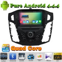focus bluetooth gps - 2 din Quad Core Android Car DVD Automotivo For Ford Focus C max with GPS Radio Bluetooth