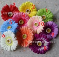 africa flowers - Artificial flowers Africa chrysanthemum flowers of Gerbera flower head simulation hair headdress gerberajamesonii chrysanthemum