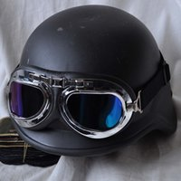 Wholesale Motorcycle riding glasses hang the helmet PC lenses goggles yards