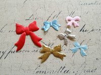 Wholesale Plz choose style Bowknot Cloth Art DIY Jewelry Patches Garment Accessory