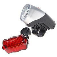 Wholesale Bicycle LED Torch Kit LED Front Light LED Rear Lump For Night Cycling