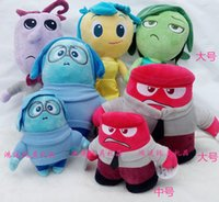 anger kids - New MOQ Inside Out plush toys Movie Anger Plush Stuffed toy Doll newest Inside Out toys doll children s toys and gifts