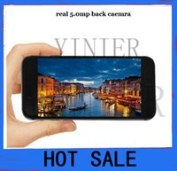 Wholesale FREE DHL goophone i6 plus v3 inch I6 Plus Dual Core MTK6572 Smart Phone M G HD screen G GPS cell phone
