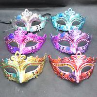 al por mayor mascarada precio barato-2015 Máscara Fairy Beauty Party de la mascarada de la bola máscaras del partido 10Pcs Proveedor / lot precio barato
