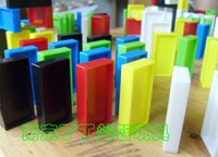 Wholesale Educational Toys Domino Plastic Domino Gift Box Toy Block Building Blocks Christmas Gift