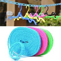 Wholesale Hot Sales Clothesline Rope Airing Clothes Quilt Blanket Windproof Antislip Organization Meters JH39