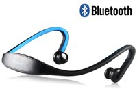 Cheap Sports Stereo Bluetooth Headphones with MP3, Hands-free Calling (Blue)