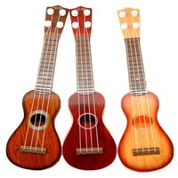 baby acoustic guitar - 2015 New Arrival Childs Instrument Education Learning Musical Little Acoustic Plastic Kids Guitar Toy For Children Xmas Gifts