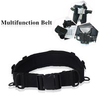 Wholesale Multifunctional Camera Waist Belt with D shaped Rings for Tripod Camera Bag Triangle Bag Lens Bag Photography Accessory Outdoor Camping
