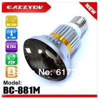bc storage - BC M Bulb WiFi AP HD720P P2P IP Camera Motion Dection Email Alert Night Vision Circular Storage IR LEDs nm