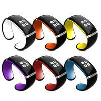 Appel android France-Sans fil Montre Smart bracelet Bracelet Smart Watch Téléphone pour IOS et Android Téléphone cellulaire intelligente Appelez Dial Pedometer Phonebook Livraison gratuite