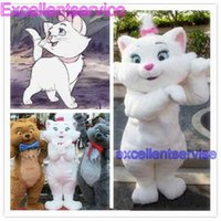 aristocats characters - Aristocats Marie mascot Cartoon Character High quality Adult Costume New custom Promotion