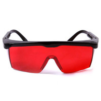 Wholesale Brand New Eye Protection Green Laser Safety Glasses Red Lens for Lyudmila Vashkevich