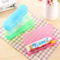 best travel toothbrush - Best Price Modern Design Portable Candy Colors Hygienic Travel Camping Toothpaste Toothbrush Holder Protect Case Storage Box