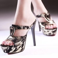 sandals for women 2014 - new ultra high heel sandals thin platform dress shoes heels fashion women sexy sandals and slippers for women