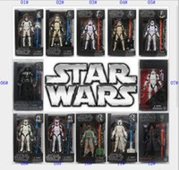 Wholesale Star Wars The Force Awakens The Black Series Storm Trooper Boba Fett style Toy PVC Figure Model Gift new