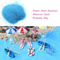 Wholesale Blue Sand Sandglass Necessary Sand Moss Micro Landscape Decoration Accessories Diy Mini Decor