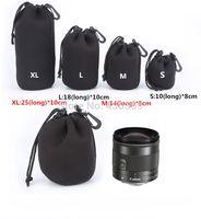 Wholesale 4 Four Size Waterproof Neoprene Soft Camera Len Pouch Bag Case XL L M S OEM
